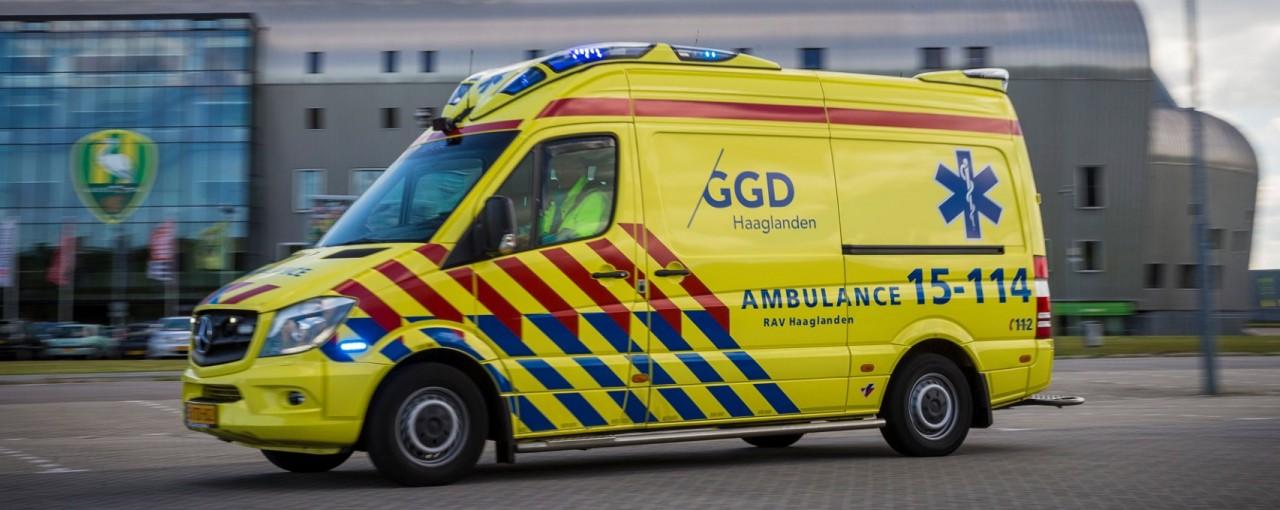 Ambulance van GGD Haaglanden